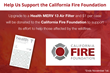 DiscountFilters.com Donates $1 for Every Health Air Filter Case Sold to California Fire Foundation