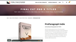ProParagraph Indie was released by Pixel Film Studios for FCPX