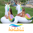 Floaty Mcfloatface Brand Announces the Release of their New Giant Unicorn Water Float