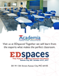 Academia Furniture at Edspaces 2017