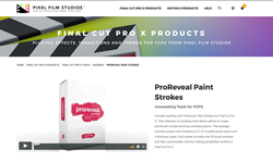 ProReveal Paint Strokes - Final Cut Pro Plugins - Pixel Film Studios