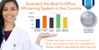 """Sinsational Smile, Inc Voted """"Preferred"""" In-office Teeth Whitening System in the Country by The Dental Advisor"""