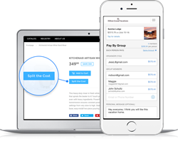 Group payments help convert online shoppers across e-commerce and travel