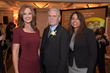 L-R: Event emcee Lisa Salvadorini from News 12 Westchester and News 12 Hudson Valley; honoree Ric Swierat, Arc of Westchester Executive Director; Rosa Rodriguez, Arc of Westchester Board President