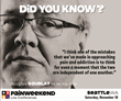 PAINWeekEnd Seattle Presents CE/CME Pain Management for Frontline Practitioners