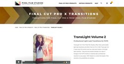 TransLight Volume 2 - FCPX Effects - Pixel Film Plugins