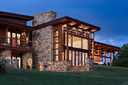 timber frame home georgetown lake precisioncraft award