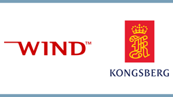 Wind River Systems and Kongsberg Geospatial Logos.