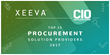 """CIO Applications Featured Xeeva on Their """"Top Procurement Solution Providers"""" List for 2017"""