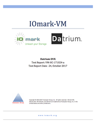 IOmark-VM Full Disclosure Report