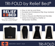 Tri Fold by Relief Bed Flyer