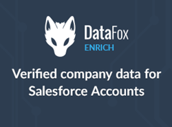 DataFox AppExchange listing for the DataFox Enrich - Account Enrichment for Salesforce, powered by Salesforce Lightning Data