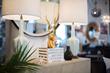 Candelabra lamps, mirrors & home decor.