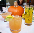 Herbed Pear Cocktail, Pumpkin Mojito