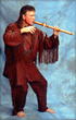 Douglas Blue Feather will teach attendees how to play the Native American flute on Sunday.