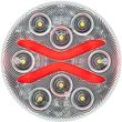BUL603CRB, Optronics BUL603CRB, BUL603CRB LED light