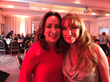 Patricia Heaton, left, and Jane Seymour during Saturday's Open Hearts gala.