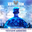 Veteran Tickets Foundation Announces Strategic Partnership with Leading Military Peer Support Nonprofit Vets4Warriors