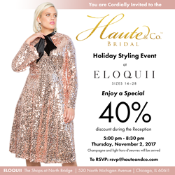 Haute & Co.™ Bridal Hosts Holiday Styling Event -- Luxury ...
