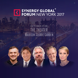 Synergy Global Forum features speeches from Richard Branson, Malcolm Gladwell and tons of other major thought leaders.