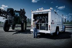 IMT work trucks, LightGuide LED Lamps, Light Guide LED lights