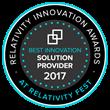 H5 Matter Intelligence Wins 2017 Relativity Innovation Award for Best Innovation: Solution Provider at Relativity Fest