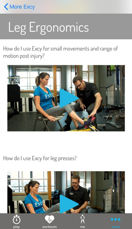 Excy Amps Up Mobile Platform With Physical Therapy