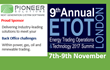 Pioneer Solutions Sponsor ETOT London 2017