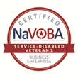 Certified NaVOBA Service Disabled Veteran Owned Business Enterprise