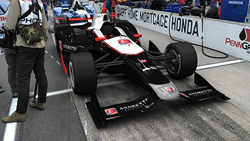 Andretti Autosport® Augmented Reality Indy Car at Speedway in Indianapolis