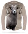 Bighorn sheep long sleeve hunting T-shirt