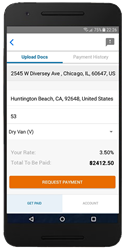 Freight Invoice Payment Advance