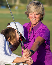 Dana Rader at The Sea Pines Resort's Golf Learning Center