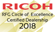 "Thermocopy Receives Ricoh's ""Circle of Excellence"" Award"