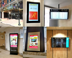 Gallery Digital Signage at Robert Treat Hotel