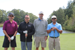 Robb McKerrow, Greg Swinks, Larry Borne, and Hettish Patel at Chipping in for Charity Event 2017