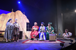 "Scene from ""Amahl and the Night Visitors."""