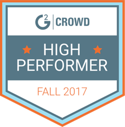 SurveyGizmo G2 Crowd Enterprise Feedback Management High Performer