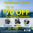 Save up to $70 on Select Eaton Differentials