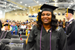Danesha Rowser was excited to attend the 2017 Columbia Southern University Commencement Ceremony.