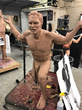 'The Atlas' Has Been Brought To Life In This Incredibly Detailed Life Size Statue