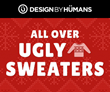 The Design By Humans' Elves Are Excited to Unwrap the New Ugly Christmas Sweater Collection