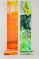 122 Conversations artist's scrolls