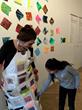 122 Conversations: Artist, Anne Labovitz with student.