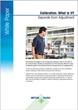 Learn the Difference Between Calibration and Adjustment in METTLER TOLEDO's New White Paper