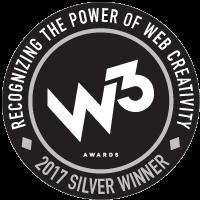 Virid W3 Silver Award 2017