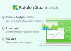 Katalon Studio v5.0 release