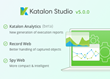 KMS Technology Releases Katalon Studio v5.0, Featuring Katalon Analytics (Beta)