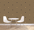 Look. Walls & Interiors Eye Tricks from the Art Deco Wallcovering Collection