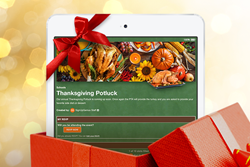 Holiday Planning, Sign Up Designs, Holiday Events, Thanksgiving, Christmas